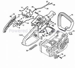 Stihl 029 Chainsaw Parts Manual