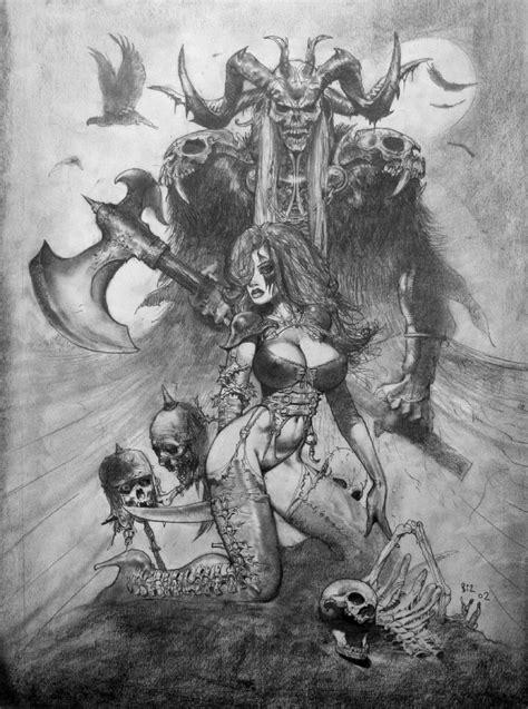 Bisley_CryForDawnAndDeathGray – The Art of Simon Bisley