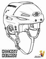 Hockey Coloring Helmet Pages Goalie Sheets Colouring Mask Nhl Ice Players Cool Play Printable Helmets Equipment Pads Sports Trick Hat sketch template