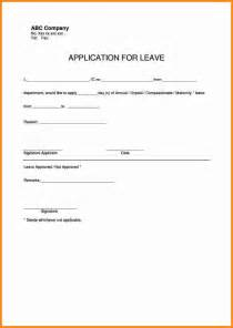 plan your wedding doc 12401754 sle leave application form sle