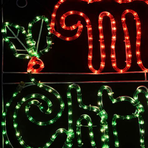 merry christmas lighted sign merry christmas mains voltage festive light sign