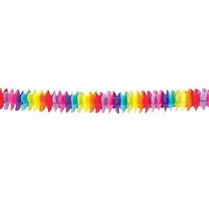 Guirlande En Papier Crépon : guirlande en papier cr pon fleurs color es 4 m prix minis sur ~ Melissatoandfro.com Idées de Décoration