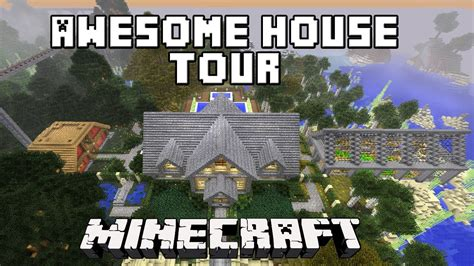 Minecraft Awesome Survival House Tour ( Scarlandhouse