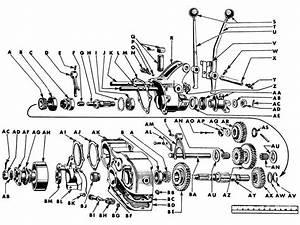 Packard Manual Transmission Diagram