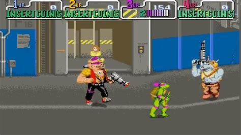 teenage mutant ninja turtle arcade play
