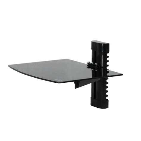 shelf for cable box wall mount bracket glass shelf lcd tv cable box