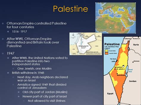 Ottoman Empire In Palestine by Religious Issues Ppt