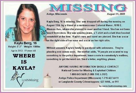 Kayla May Berg – August 11, 2009 – Wausau, WI