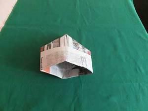 Hut Aus Papier : bischofshut falten papierhutvariante f r kinder ~ Watch28wear.com Haus und Dekorationen