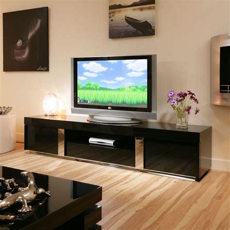 modern tv cabinets uk tv stand cabinet unit large 2 2mtr black gloss