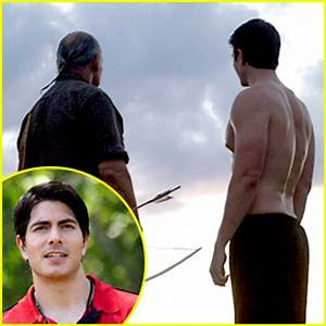 Brandon Routh & 'Enlisted' Guys Go Shirtless for Latest ...