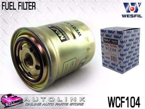 2006 Ranger Fuel Filter by Wesfil Diesel Fuel Filter Suits Ford Ranger Pj Pk 4cyl T