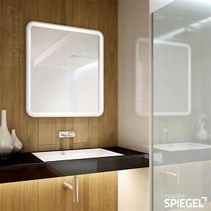 Spiegel Badezimmer Led : badezimmerspiegel mit beleuchtung prego white ii ~ Lateststills.com Haus und Dekorationen