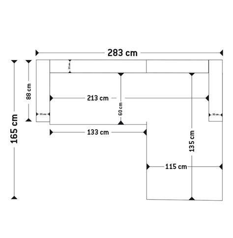canap d angle dimension canapé d 39 angle kanap en tissu noir canapé design
