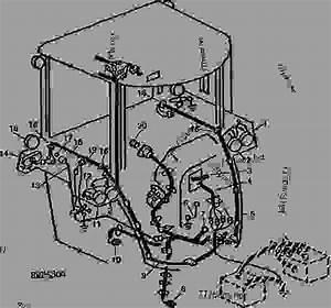 Sound-gard Body Wiring - Tractor John Deere 4850