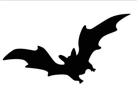 flying bat template flying bat silhouette now silhouette graphics animal silhouette bat