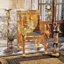 egyptian furniture design toscano
