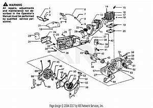 Poulan Pp325 Gas Saw  325 Gas Saw Parts Diagram For Power Unit