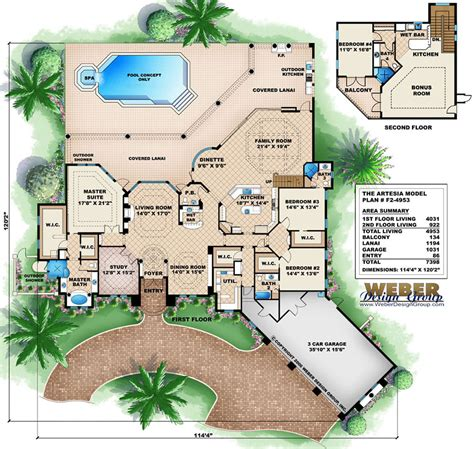 luxury mediterranean home plans tuscan style house plans with center courtyard