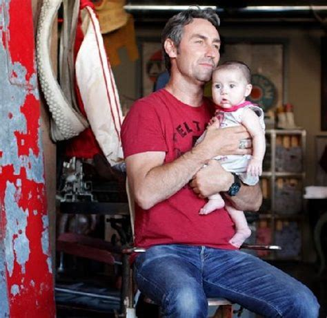 mike wolfe  american pickers   baby daughter