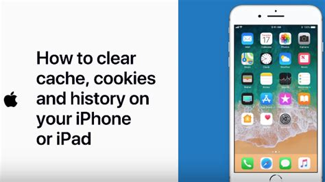 how do i clear cache on iphone how to clear cache cookies and history on your iphone or