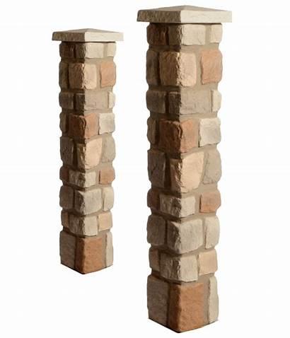 Faux Columns Driveway Covers Brick Cobblestone Deck