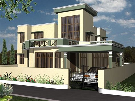 Pretty Duplex Homes On Modern Beautiful Duplex House