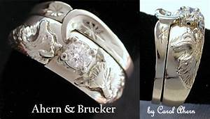 stunning wedding rings wolf track wedding ring With wolf wedding rings