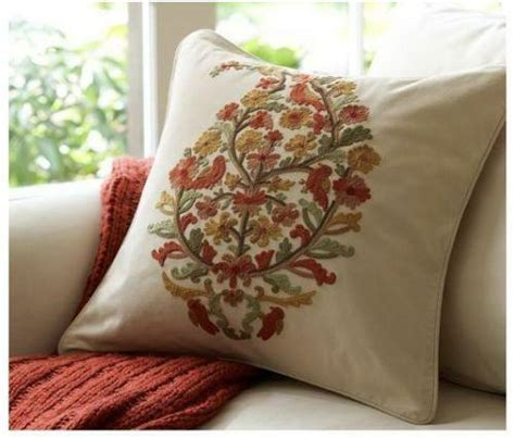 Pillows At Pottery Barn by Pottery Barn Embroidered Pillow Ebay