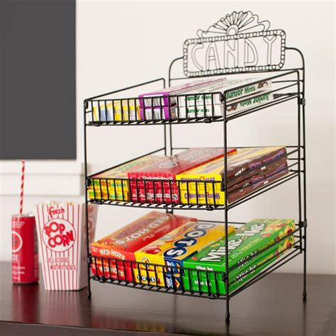 snack display rack wire food display black quot quot snick snack paddy
