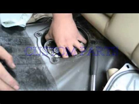 How To Install  Replace A Fuel Pump Assembly  Back Seat