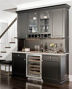 custom painted cabinets home bar traditional with wood With kitchen cabinets lowes with metal wall art wine