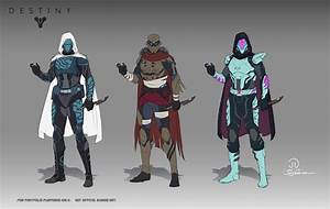 Destiny Hunter concepts Not official bungie art by ...