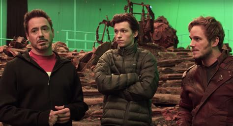 Avengers Infinity War Filming Separately