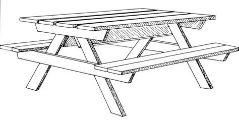plan pour fabriquer une table beau plan de banc de jardin