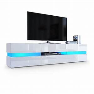 Tv Lowboard Led : flow tv board ambient light mit lounge feeling ~ Whattoseeinmadrid.com Haus und Dekorationen