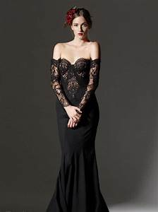 elegant collection of long black bridesmaid dresses with With long black dresses for weddings