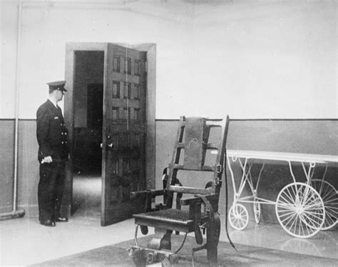 botched electric chair execution photos