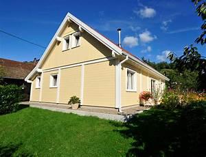 maison bois traditionnelle en bardage canexel nos maisons With energie d une maison 8 maison 224 ossature bois avec bardage canexel nos maisons