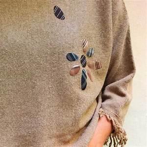 Teindre Un Vetement Taché De Javel : des id es pour r parer et customiser un pull un gilet ou une veste avec du tissu thermocollant ~ Dode.kayakingforconservation.com Idées de Décoration