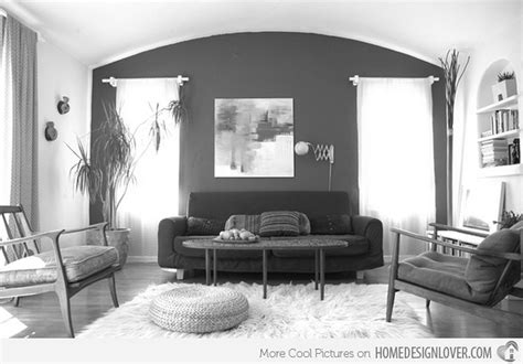 living room ideas with grey walls