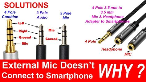 Pole Headphone Microphone Separator