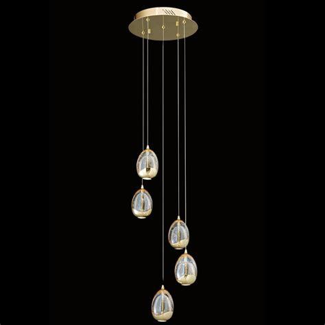 round glass pendant light illuminati terrene five light round gold clear bubbled