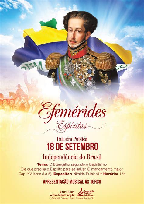 » Palestra sobre a Independência do BrasilFederação ...