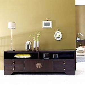 Meuble La Redoute : soldes meuble tv la redoute meuble tv yong tikamoon en acajou ventes pas ~ Preciouscoupons.com Idées de Décoration