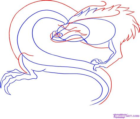 How to Draw Chinese Dragons Step by Step