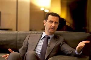 Meeting President Assad