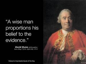 """""""A wise ma... Hume Quotes"""