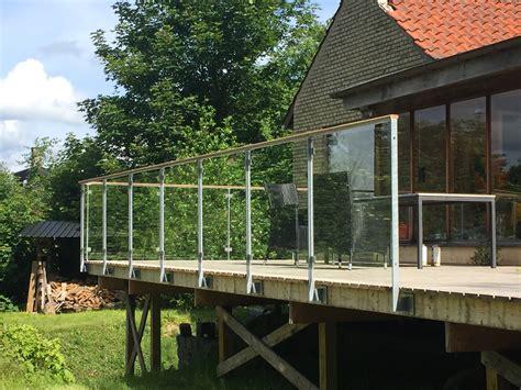 geländer für terrasse terrasse gelaender glas sideeffectsguide