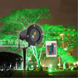 elf light christmas lights projector outdoor laser green and red moving garden laser decoration